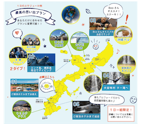 沖縄旅行をもっと楽しくできる新プランのご案内!