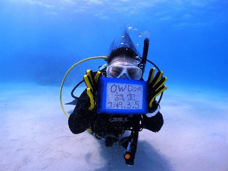 沖縄在住者、ライセンスゲット!